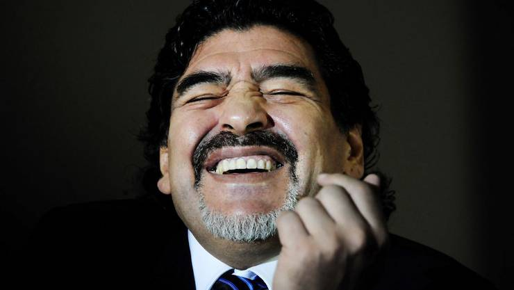 Diego Armando Maradona sucht Job als Trainer - Sion sagt ab.