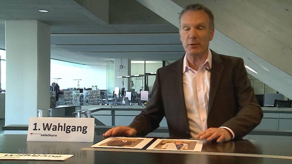 Wahlsonntags-Vorschau: In Solothurn kämpfen mehrere Parteien um zwei Regierungsrats-Sitze