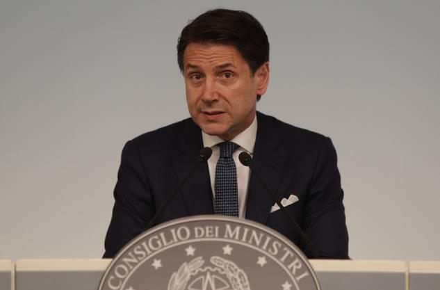 Giuseppe Conte: Seine Tage als Regierungschef könnten gezählt sein.