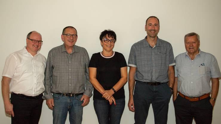 Der neue Vorstand der Sektion Thal-Gäu