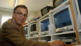 Jürg Schwander, Leiter der Klinik für Schlafmedizin. AZ-Archiv