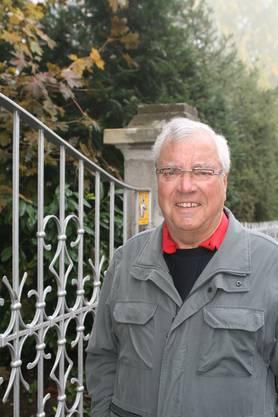 William Buttows (76), Rentner, Waltenschwil