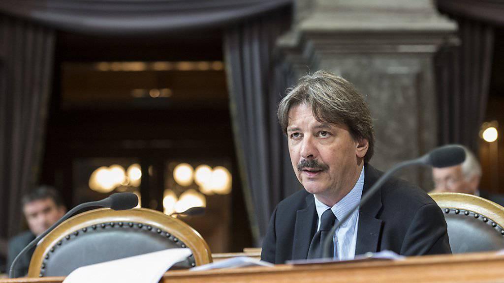SP-Ständerat und Gewerkschaftsbund-Präsident Paul Rechsteiner (SG) kämpfte vergeblich gegen ein höheres Frauenrentenalter und tiefere Pensionskassenrenten.