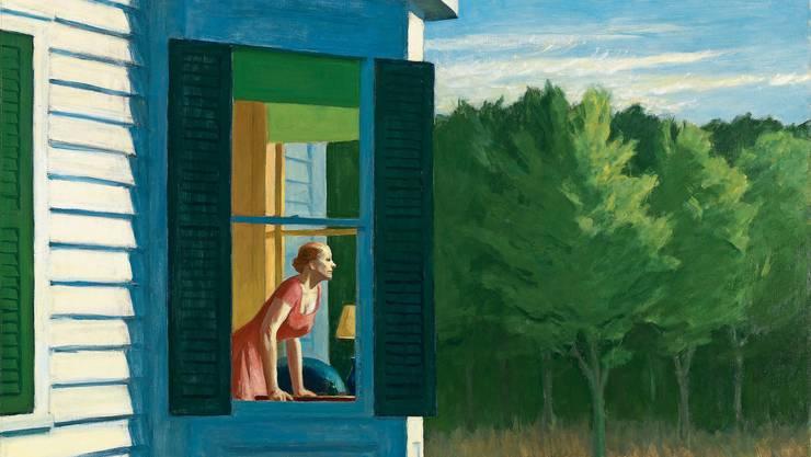 «Cape Cod Morning» ist eines der zahlreichen Meisterwerke Edward Hoppers, die in der Fondation Beyeler zu sehen sind.