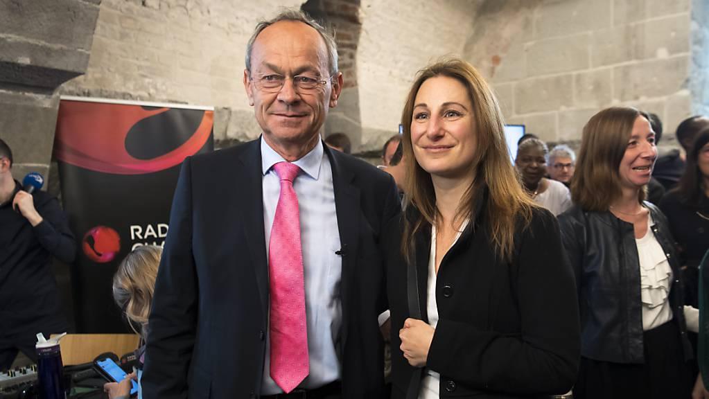 Der Bisherige Olivier Français (FDP) und Adèle Thorens von den Grünen werden den Kanton Waadt in den nächsten vier Jahren im Ständerat vertreten.