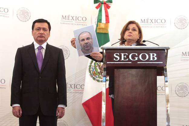 Mexikos Regierung setzt Millionen-Belohnung auf Drogenboss «El Chapo» aus.