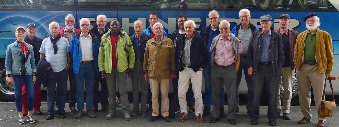 Gruppenbild in Interlaken