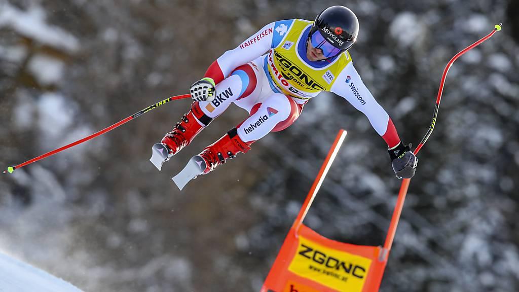 Mauro Caviezel war zum Auftakt in die Weltcupsaison in Topform