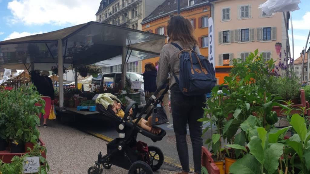Tausende Besucherinnen an Blumenfest in La Chaux-de-Fonds