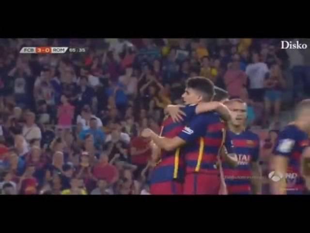 Traumtor von Ivan Rakitic für Barcelona gegen die AS Rom
