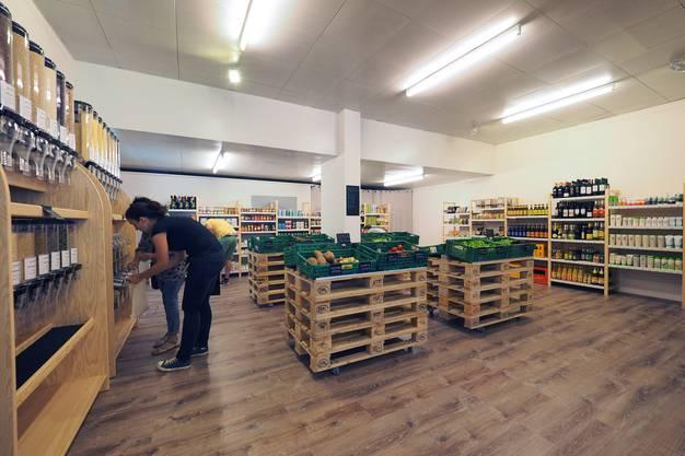 Grünland: Ein Blick in den veganen Bioladen