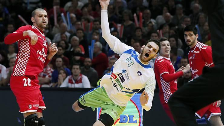 Sloweniens Siegtorschütze bei der überraschenden Wende im Spiel um Rang 3 gegen Kroatien: Borut Mackovsek