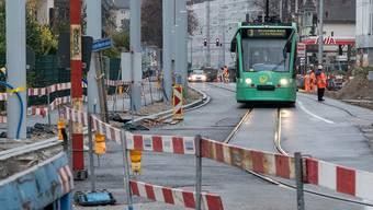 Die Verlängerung der Tramlinie 3 sorgte lange für Stunk.