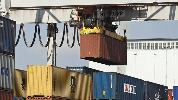 Laut der Credit Suisse dürften die Schweizer Exporte in diesem Jahr um 4 Prozent wachsen. (Themenbild)