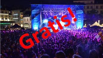 Zu der Gratiskultur Basel gehört zum Beispiel das Imagine-Festival.