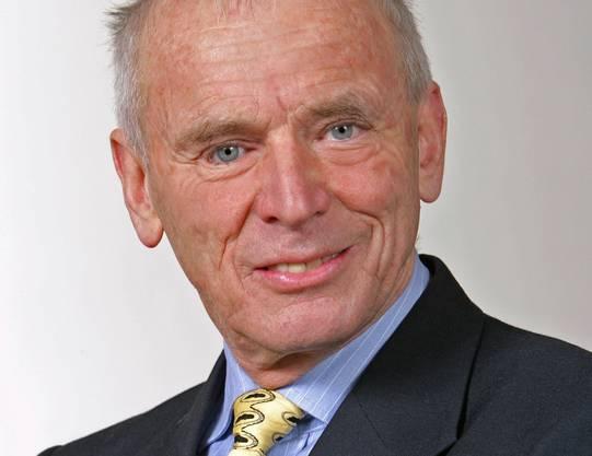 Robert Nef. Von 1979 bis 2007 Leiter des Liberalen Instituts.