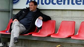 Raimondo Ponte wird den FC Aarau auf jeden Fall bis Ende Saison trainieren.