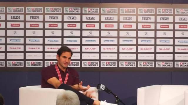 Roger Federer über den Unterschied von einfachen und erkämpften Siegen