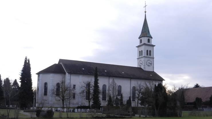Auch die Kirche der Kriegstetter Katholiken gehört zur fusionierten Kirchgemeinde. Kirch
