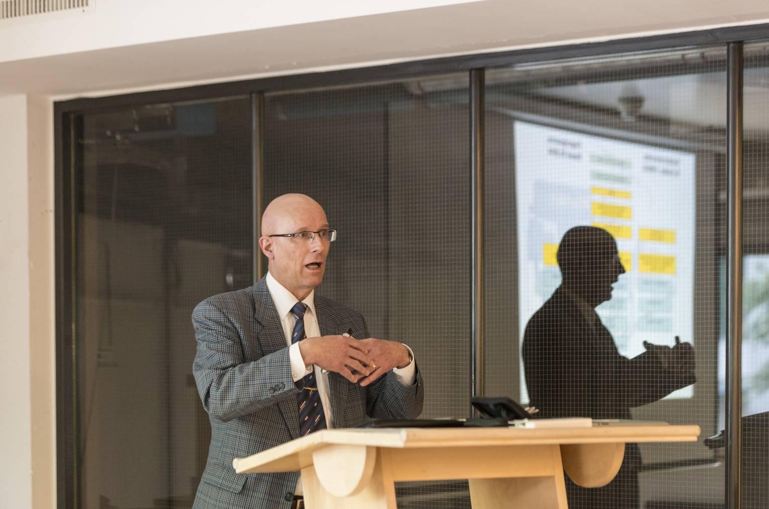 «Wir müssen die Stau-Situation lösen»:  VBSG-Chef Eigenmann.