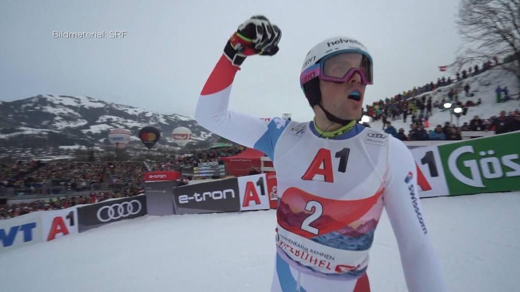 Sport: Daniel Yule gewinnt den Slalom in Kitzbühel