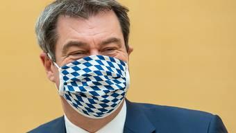 """""""Es tut uns weh, es ist unglaublich schade"""", sagte Bayerns Ministerpräsident Markus Söder zur Absage des Oktoberfestes. (Archivbild)"""
