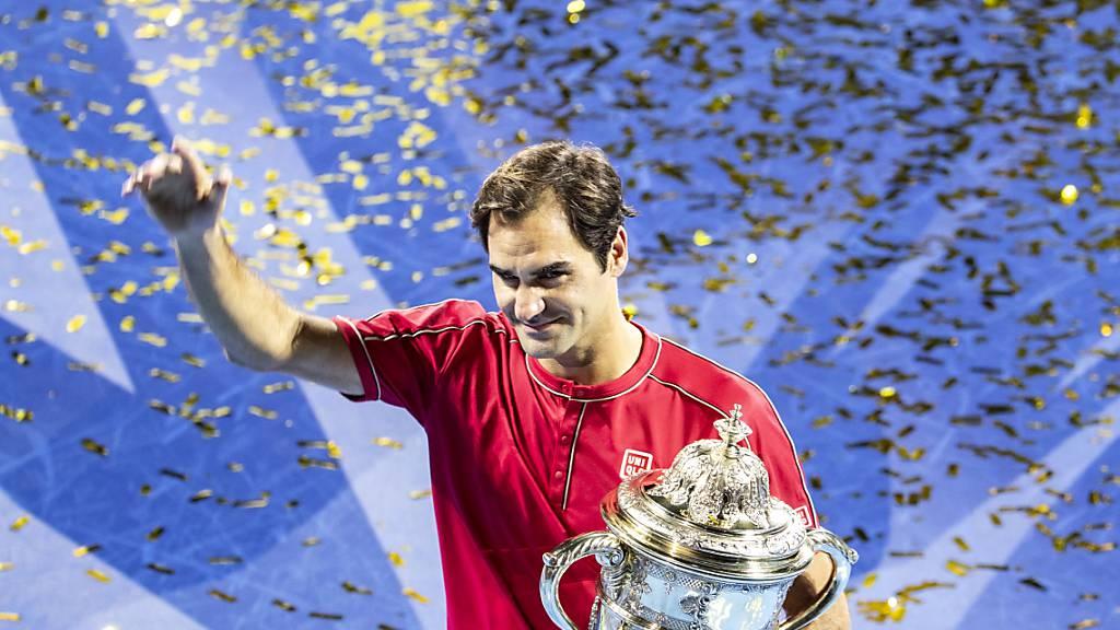 Federer verzichtet auf eine Teilnahme in Paris-Bercy