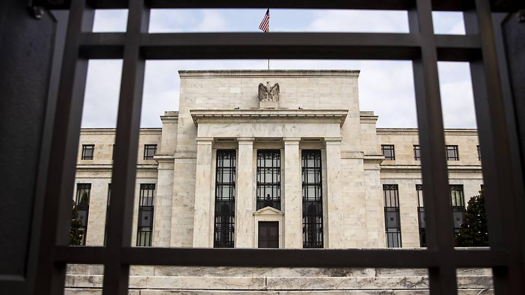 Hauptsitz der US-Notenbank in Washington. (Archivbild)