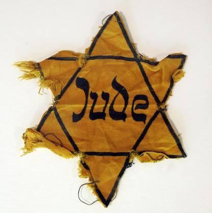 Ein gelber Judenstern, wie ihn Hingsts Grossmutter getragen haben soll.