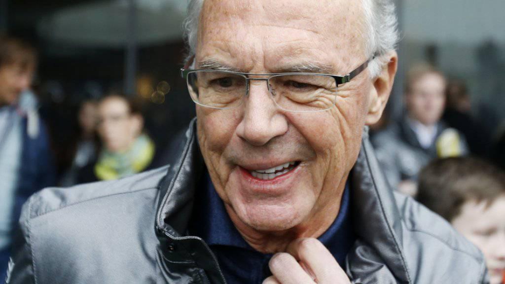 Keine Zusammenarbeit bei der Aufklärung von Korruptionsvorwürfen: Franz Beckenbauer wurde von der FIFA verwarnt und gebüsst