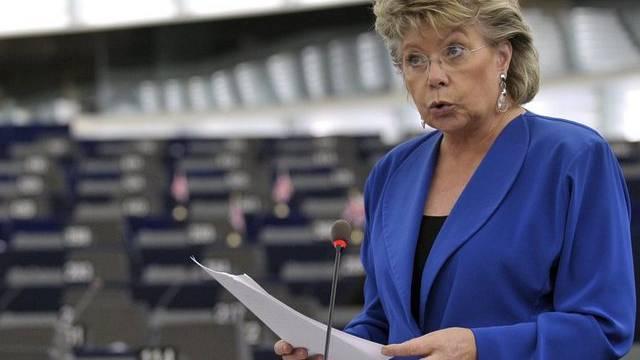 EU-Kommissarin Viviane Reding (Archiv)