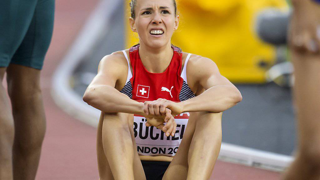 Einmal mehr schaffte es Selina Büchel an einem globalen Grossanlass im Freien nicht, in den Final über 800 m einzuziehen