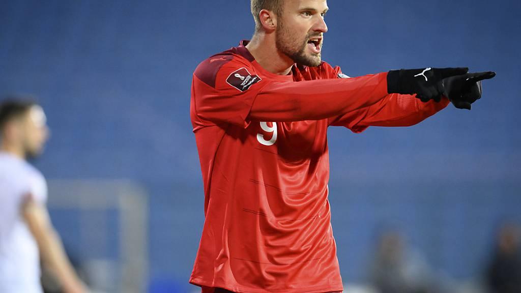 Haris Seferovic erzielte seinen 20. Treffer für das Nationalteam