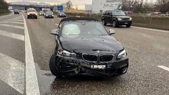 Der Unfall ereignete sich auf der Autobahn A2.