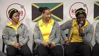 «Cool Bolt»: Jamaikas Frauen-Bob-Team hat in der Schweiz trainiert