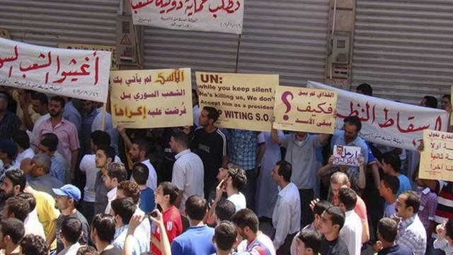 Obwohl die Proteste und die Gewalt in Syrien weitergehen, kann sich der UNO-Sicherheitsrat nicht zu einer Resolution durchringen