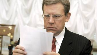 Der russische Finanzminister Alexej Kudrin muss gehen (Archiv)