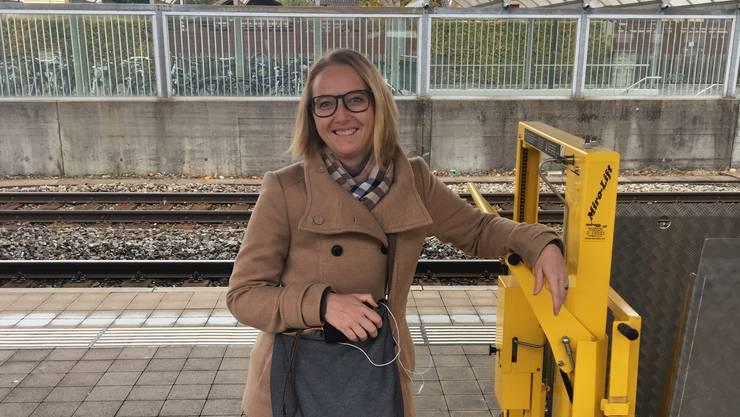Claudia Keller (40), Marketingfachfrau, aus Beinwil am See.