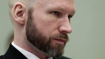 Der rechtsextreme norwegische Attentäter Anders Behring Breivik ist mit einer Klage gegen seine Haftbedingungen gescheitert. (Archiv)
