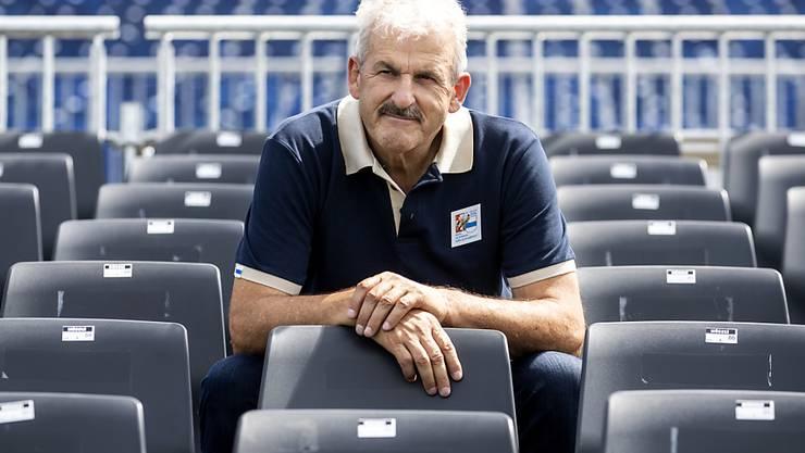 Harry Knüsel in der Arena von Zug: In der Organisation des Eidgenössischen hat er viel zu tun