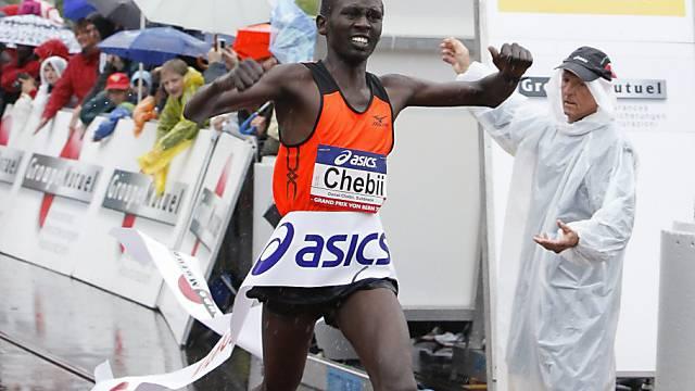 Daniel Chebii lief seiner Konkurrenz auf und davon