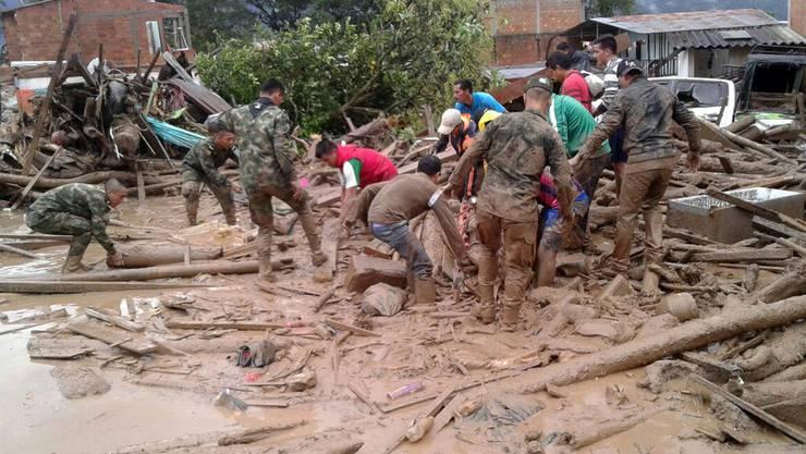 Kolumbien überschwemmung Aktuell