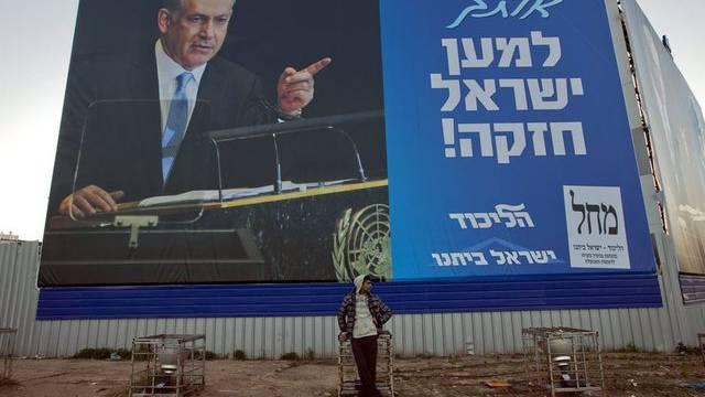 Gute Wahlchancen für Israels Premier Benjamin Netanjahu (Archiv)