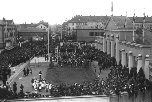 Schweizer Mustermesse Basel, ca. 1921