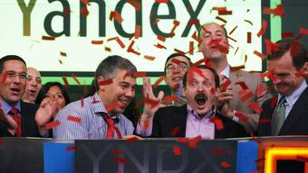 Das freut die Russen: Ihre Internetsuchmaschine Yandex kommt an der Börse gut an