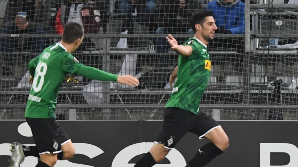 Frankfurt siegt dank japanischem Doppeltorschützen
