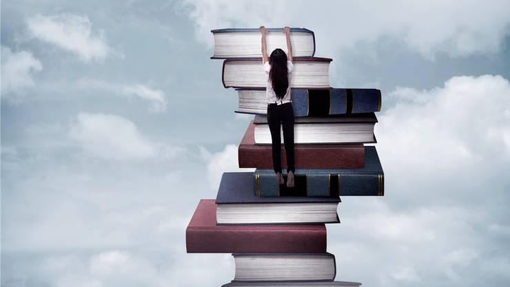 Über Lesestoff kann man sich auch mit Fremden austauschen.