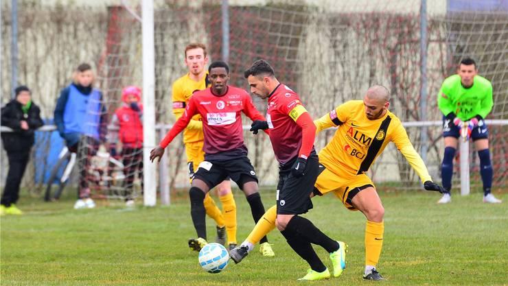 Der FC Wangen gewinnt in Bassecourt.