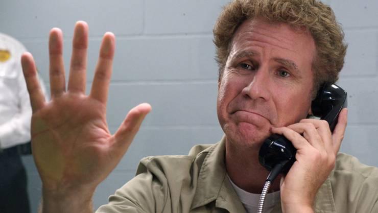"""US-Schauspieler Will Ferrell - hier in einer Szene aus """"Get Hard"""" - wirbt für einen gemässigten Handykonsum. (Archivbild)"""