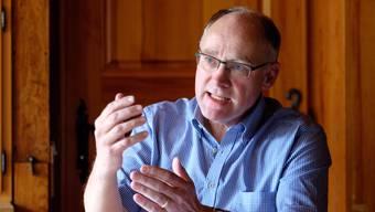 SVP-Nationalrat Hansjörg Knecht ist Präsident des Aargauer Hauseigentümerverbands und Gegner der Millionärsinitiative.